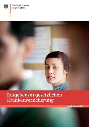Ratgeber zur gesetzlichen Krankenversicherung - Bundesverband ...
