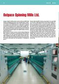 Outpace Spinning Mills - Savio SPA - Page 4
