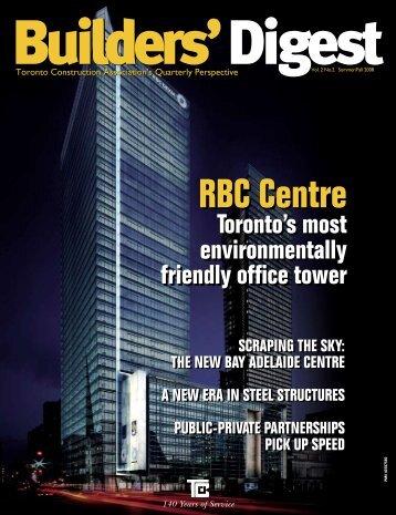 Builders - Toronto Construction Association