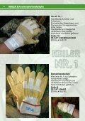 Katalog 09/10 [PDF, 2,3 MB] - Keiler Schutzhandschuhe - Seite 4