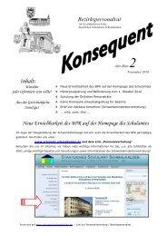 Infoblatt 2 -2010 - Staatliches Schulamt Südthüringen