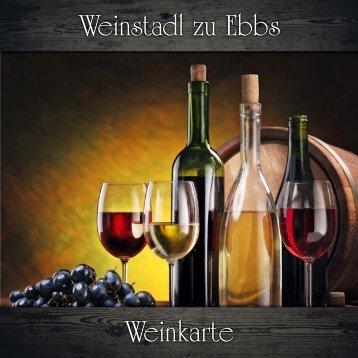 Weinkarte - WEINSTADL Heuriger Kufstein TIROL