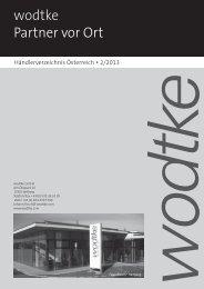 PLZ-Gebiete - Wodtke