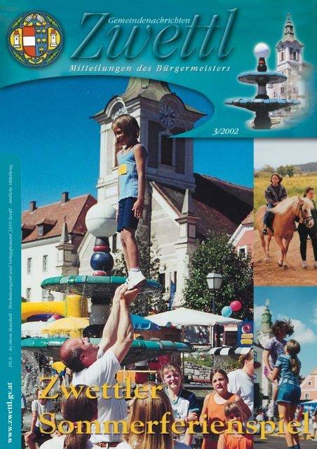 Gemeindenachrichten Zwettl 3/2002 (2,05 MB)