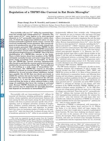 read article - University of Toronto