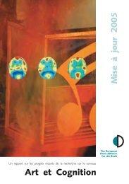 Art et Cognition - Dana Foundation