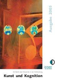 Kunst und Kognition - Dana Foundation