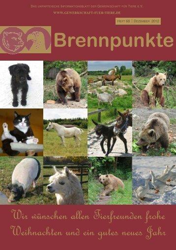 Heft 68-12 - Gewerkschaft für Tiere