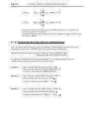 5.1.6 Principe de calcul des réserves mathématiques - Digilex