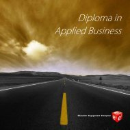 Diploma in Applied Business - BDS Europe