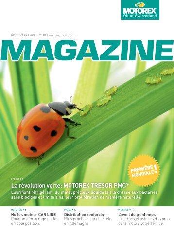 La révolution verte: MOTOREX TRESOR PMC®