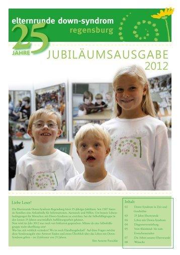 JUBILÄUMSAUSGABE - Elternrunde Down-syndrom Regensburg