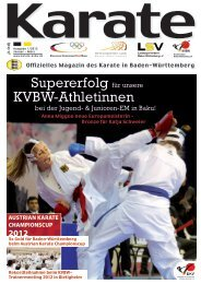 KVBW-Magazin 1201 - Bushido Oberkirch
