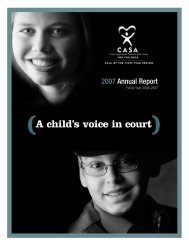 (A child's voice in court) - CASA of the Pikes Peak Region