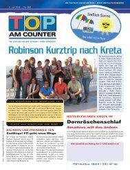 Robinson Kurztrip nach Kreta - top am counter