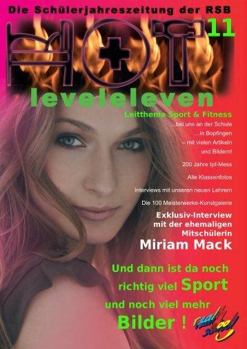 """Leitthema """"Sport und Fitness"""" - Realschule Bopfingen"""