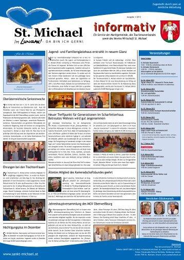 """Informativ"" January 2013 - St. Michael"