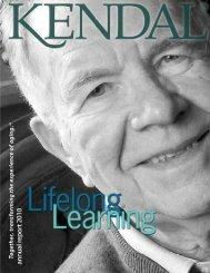 Kendal Annual Report 2010