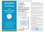 ESD-Koordinator - KEINATH Electronic