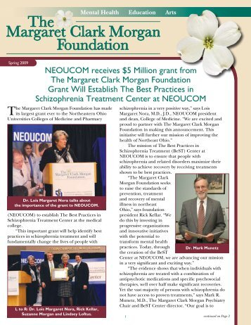 NEOUCOM receives $5 Million grant from The Margaret Clark ...