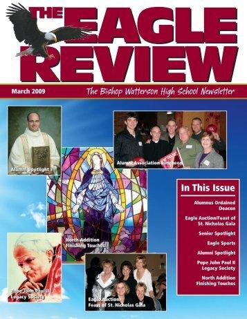 290788 Eagle Review.qxp - Bishop Watterson High School