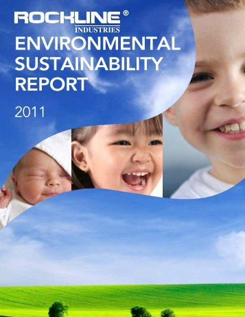 ENVIRONMENTAL SUSTAINABILITY REPORT - ROCKLINE Europe