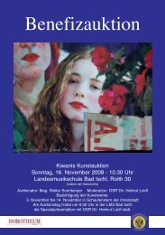 Katalog 2008 - Kiwanis Club zu Bad Ischl