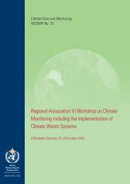 Regional Association VI Workshop on Climate Monitoring ... - WMO