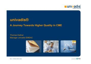 univadis® - European CME Forum