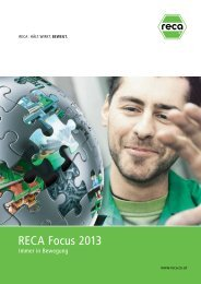 RECA Focus 2013 - Kellner & Kunz AG