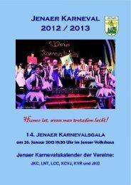 pdf : 4MBytes - Jenaer Karnevalsgala e.V.