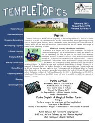 February 2012 WEB - Beth El Temple