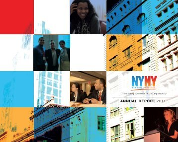 ANNUAL REPORT 2011 - New York Needs You
