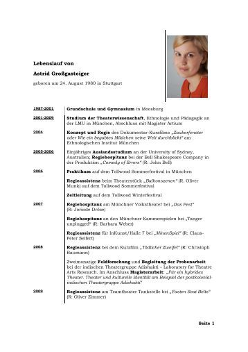 lebenslauf als pdf zum download - Muster Lebenslauf Pdf