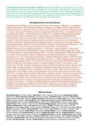 List of signatories - Palästinakomitee Stuttgart