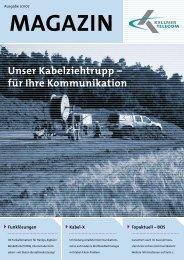 Unser Kabelziehtrupp - Kellner Telecom GmbH