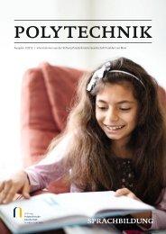 Polytechnik 01/2012 - Stiftung Polytechnische Gesellschaft