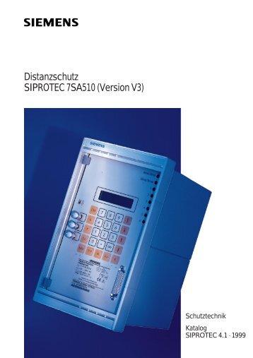 Distanzschutz SIPROTEC 7SA510 (Version V3)