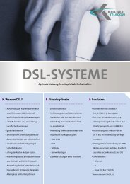 DSL-SYSTEME - Kellner Telecom GmbH