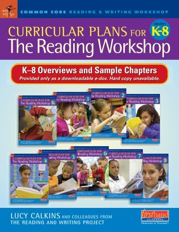 Curricular Plans for the READING Workshop, K–8 - Heinemann