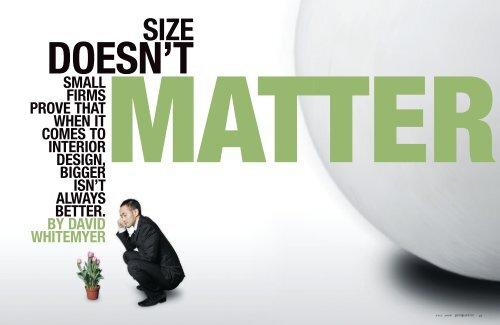 Matter International Interior Design Association