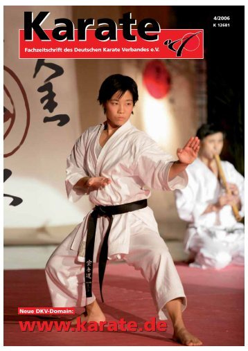 DKV-Magazin Nr. 4 - Chronik des Karate