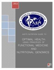 functional medicine and nutritional genomics - American Association ...