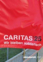Jahresbericht_2007 - Caritas Luzern