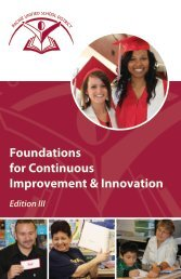 Foundations for Continuous Improvement - Ray And Associates Inc.