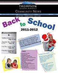 Transportation (busing) services - Thompson School District