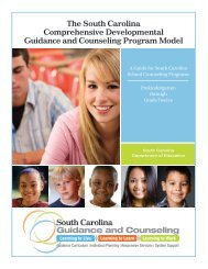 Guidance and Counseling Program Model - South Carolina ...