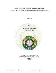 Implementasi Pengawasan Pemerintah Kota Medan - USU ...