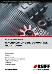 REIFF Technische Produkte GmbH - Technische ... - Roller Belgium