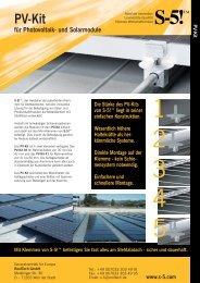 Pv-Kit - CAVA Halbfabrikate AG